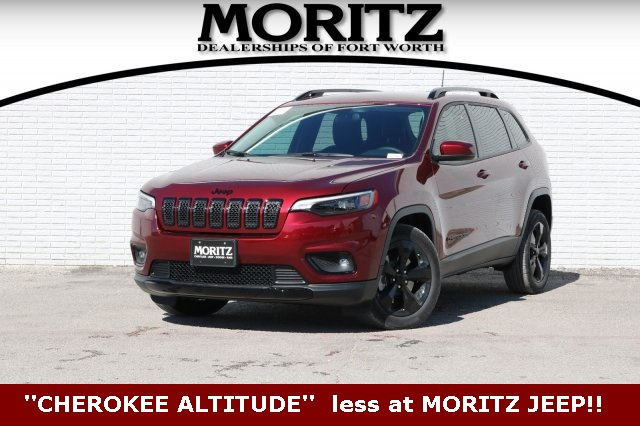 Cherokee For Less >> New 2019 Jeep Cherokee Altitude Sport Utility In Fort Worth 373059