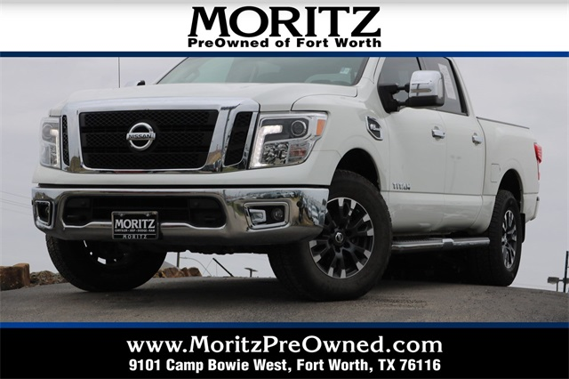 Pre Owned 2017 Nissan Titan Sl 4d Crew Cab In Fort Worth P23154