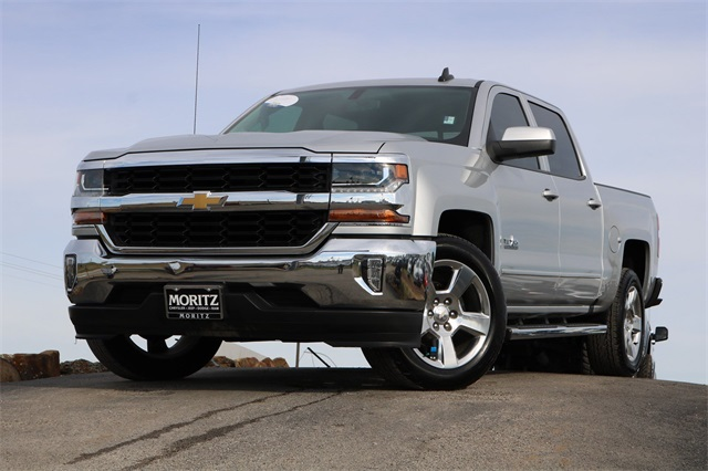 Pre Owned 2017 Chevrolet Silverado 1500 Lt 4d Crew Cab In Fort Worth