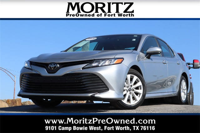 Fort Worth Toyota >> Pre Owned 2019 Toyota Camry Le Fwd 4d Sedan
