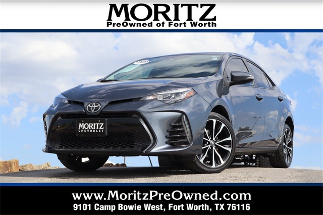 Fort Worth Toyota >> Pre Owned 2017 Toyota Corolla Se Fwd 4d Sedan
